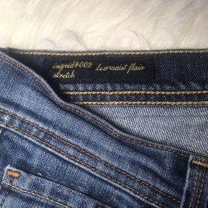 Citizens Of Humanity Jeans - Citizens CoH 27 Ingrid low waist blue flare jeans